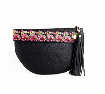Clutch Black & floppy