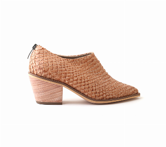 TEXANA FISH BOOTIE CAMEL