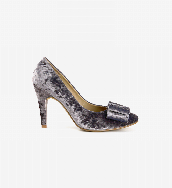 Stiletto Velvet Lazo