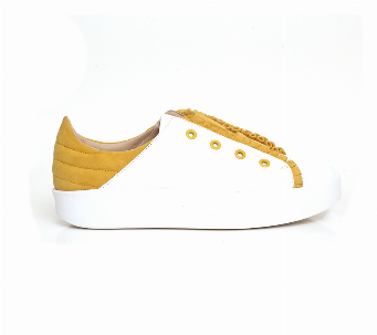 FRING SNEAKER WHITE/YELLOW