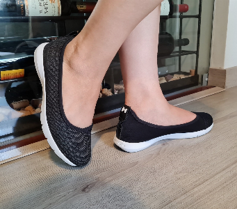 ELLIE MESH SNAKE BLACK